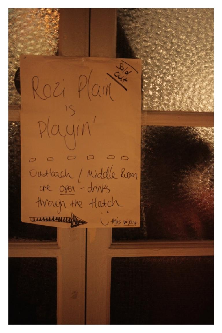 Rozi Plain & friends at Levis Corner House 23/11/2019